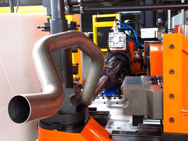 YLM - CNC Hybrid Tube Bending Machine - CNC-65MS-5A