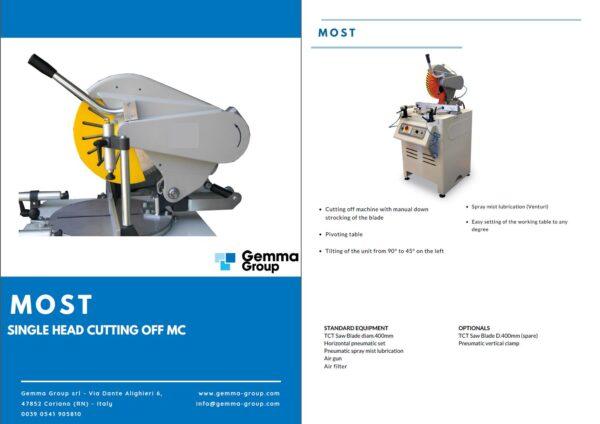 GEMMA - Sawing Machines
