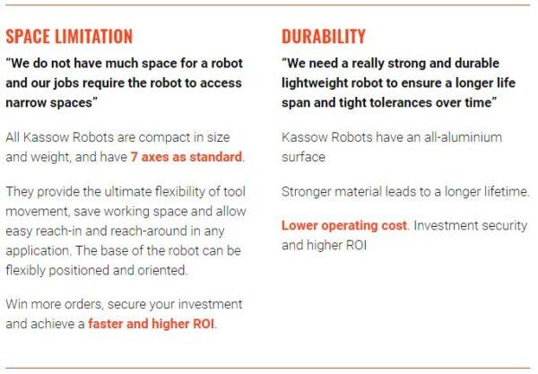 Kassow Robots – 7-AXIS COLLABORATIVE COBOT - KR810