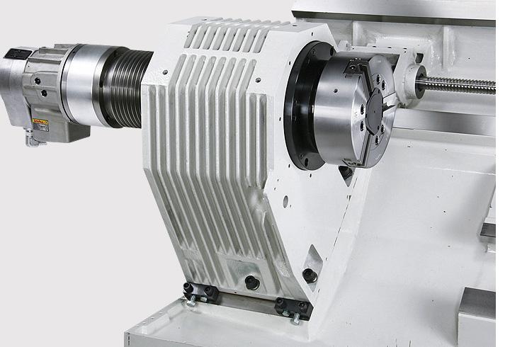 HANNSA - Heavy Duty CNC Lathe / Box Ways on 2 Axes