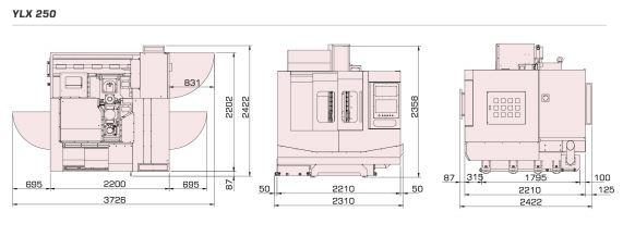 HANNSA - YLX 250 - 5 Axis - Vertical Machining Center