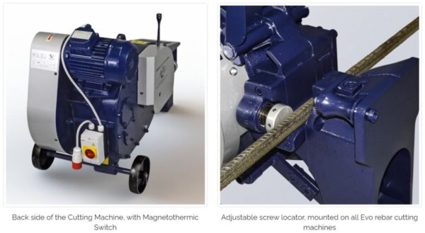OFMER - Rebar Cutting Machines Evo series