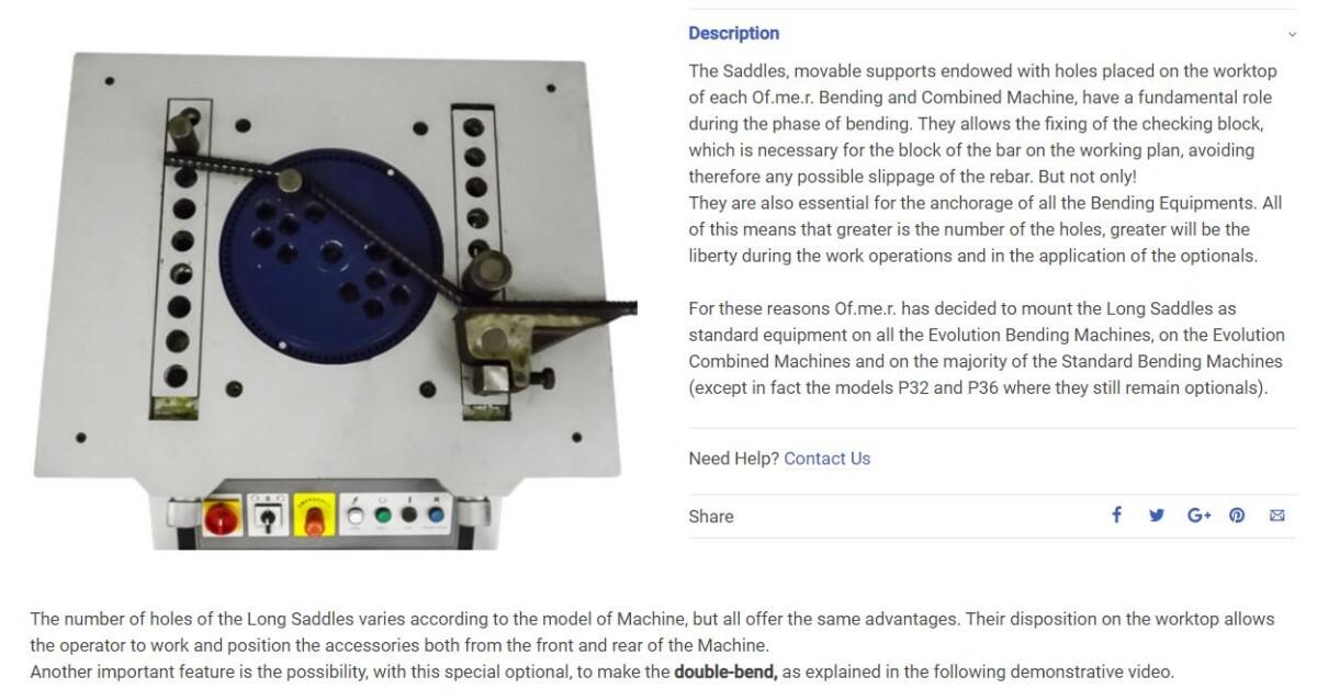 Rebar Bending Machines Evo Series