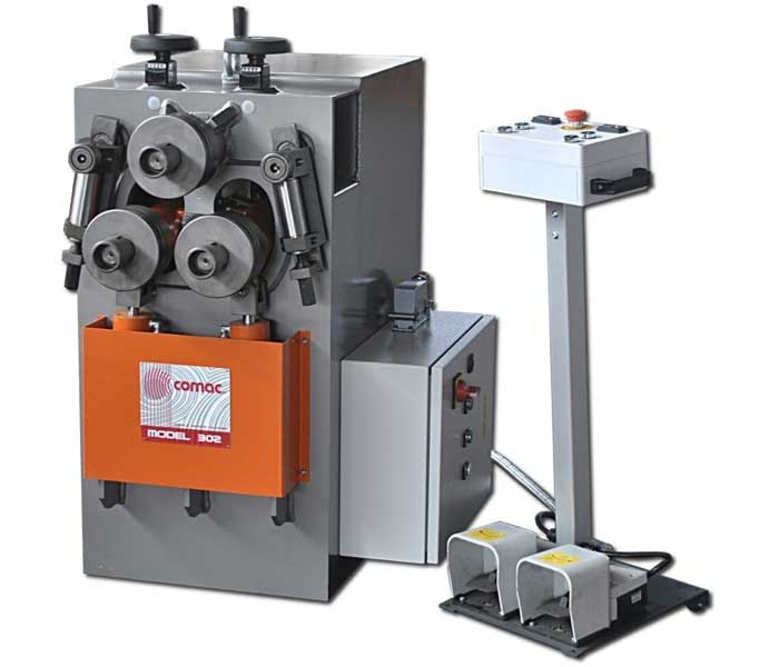 COMAC - SERIE 3000 - MODEL 302 - Section and Profile Rolling Machine