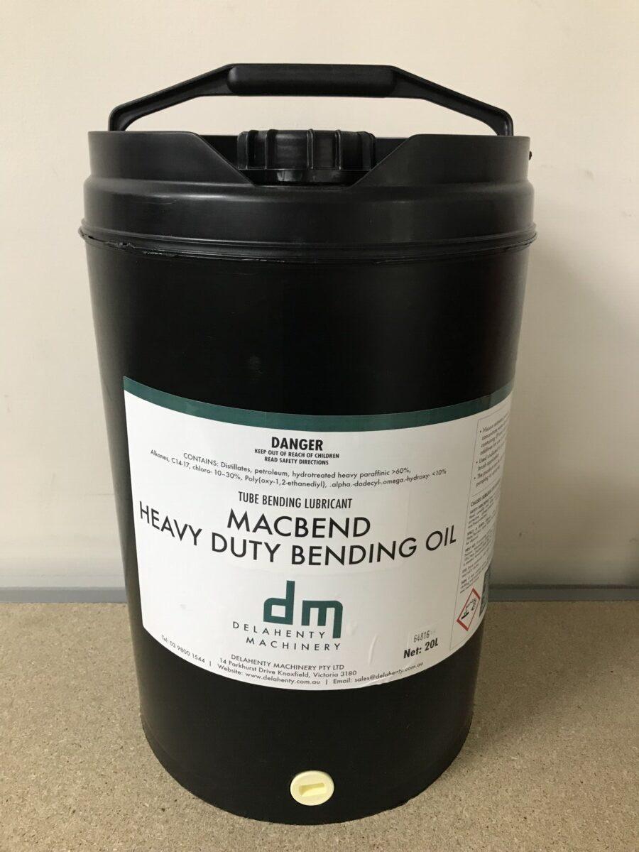 MACBEND Tube Bending Heavy Duty Bending Oil - 20Ltr or 205Ltr