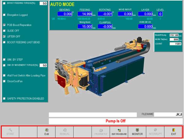 YLM CNC Tube Bender Software