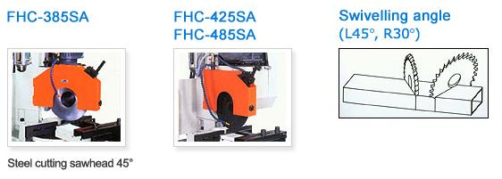 FONG HO - FHC 485 SA - Circular Cold Saw